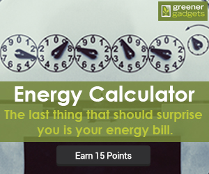 Greener Gadgets Energy Calculator